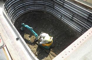 ライナー立坑設置工事