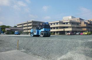 駐車場整備工事